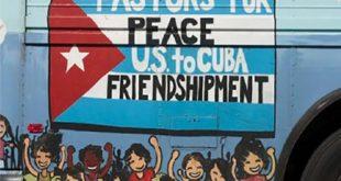 cuba, pastores por la paz, relaciones cuba-estados unidos, solidaridad con cuba