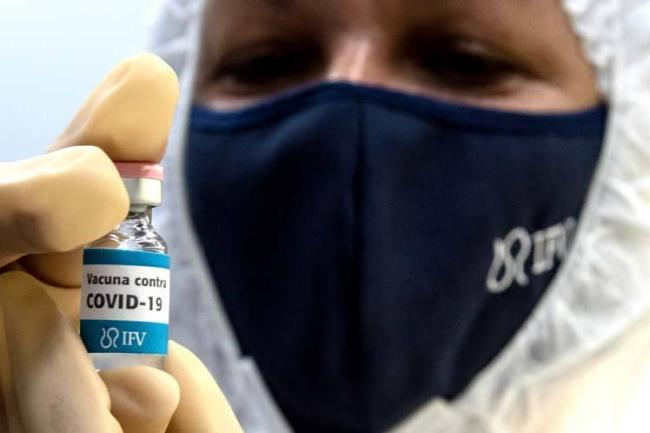cuba, vacuna contra la covid-19, soberana o2, instituto finlay de vacunas
