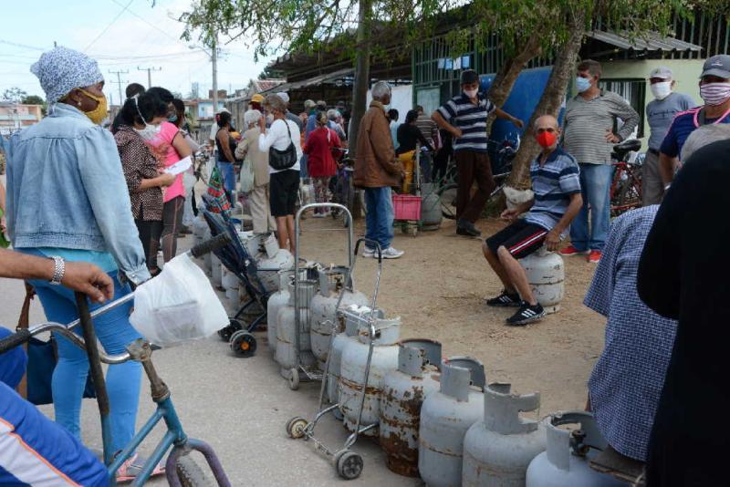 sancti spiritus, gas liberado, gas licuado, economia cubana