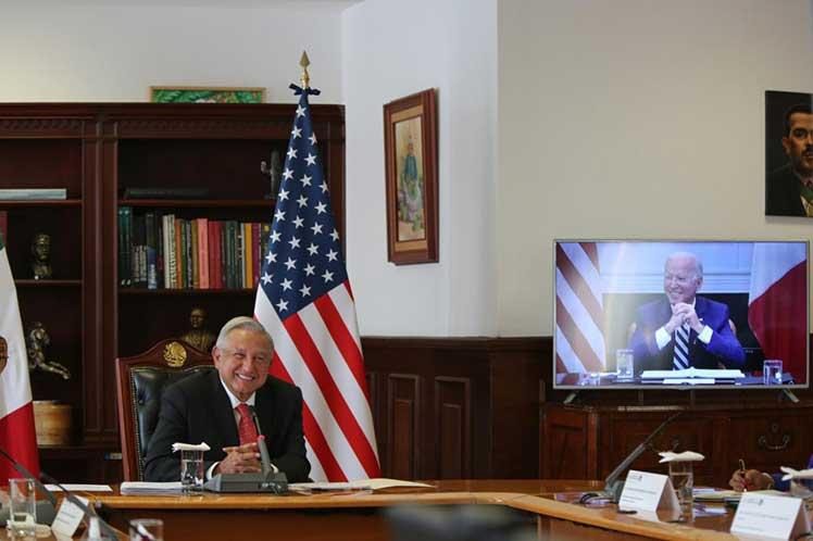 La videoconferencia es la tercera desde la elección de Biden a la presidencia. (Foto: PL)