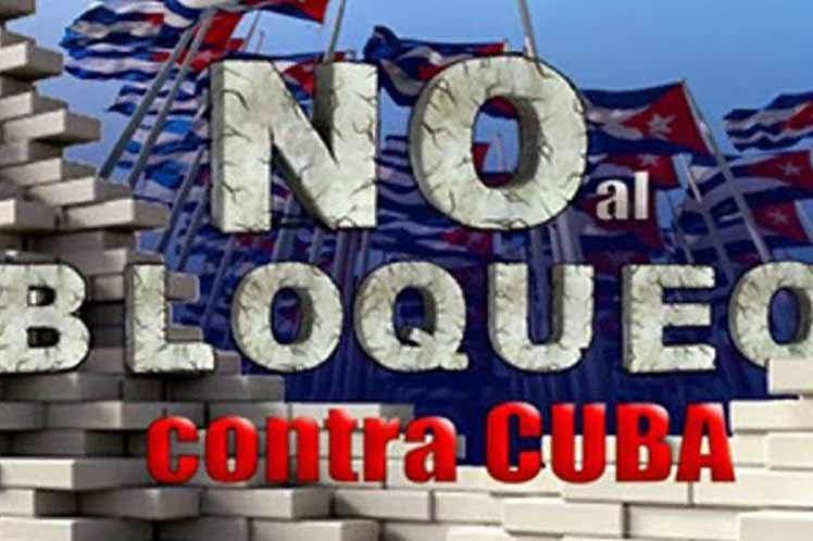 Desde disímiles lugares se levantan voces contra el injusto bloqueo de EE.UU. contra Cuba.