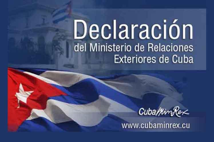 La isla cumple con rigor sus obligaciones en virtud de dicho acuerdo, ratifica el documento.