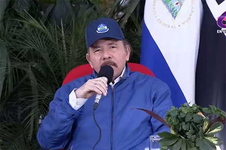 Ortega destacó que con el apoyo de expertos cubanos, su país logró declararse libre de analfabetismo. (Foto: PL)