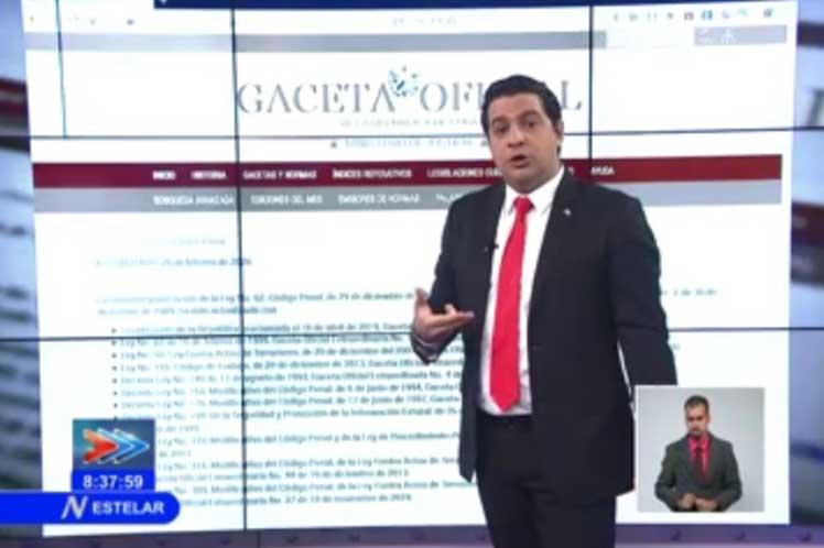 El reporte de la televisión explicó que la persona detenida se halla en prisión provisional mientras se desarrolla la investigación. (Foto: PL)