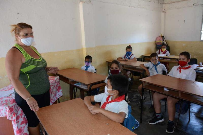 sancti spiritus, educacion, curso escolar 2020-2021, maestros rurales, enseñanza primaria