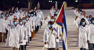 cuba, contingente henry reeve, medicos cubanos, catar, qatar, covid-19, pandemia mundial