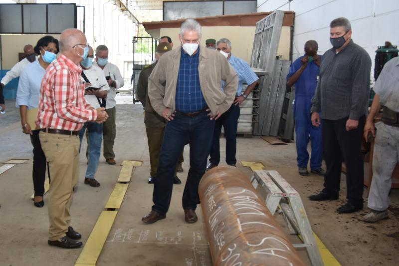 cuba, miguel diaz-canel, construccion, economia, ciencia y tecnica, sustitucion de importaciones