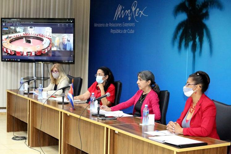La representación antillana agradeció el apoyo de la UE a la resolución que exige el fin del bloqueo en Naciones Unidas. (Foto: PL)