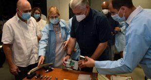 cuba, salud publica, ciencia cubana, miguel diaz-canel, covid-19, ventilador pulmunar