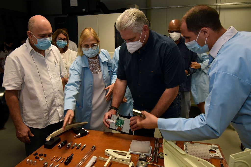 cuba, salud publica, ciencia cubana, miguel diaz-canel, covid-19,