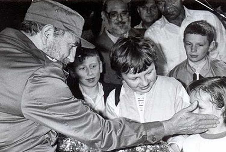 cuba, ucrania, fidel castro, chernobil, miguel diaz-canel