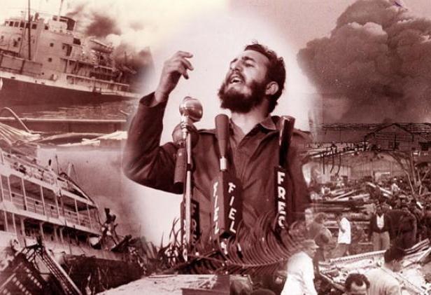 cuba, terrorismo contra cuba, subversion contra cuba, atentado, fidel castro, historia de cuba