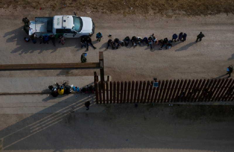 estados unidos, texa, migrantes, frontera estados unidos-mexico