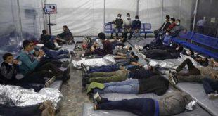 estados unidos, niños migrantes, migrantes, centro de detencion