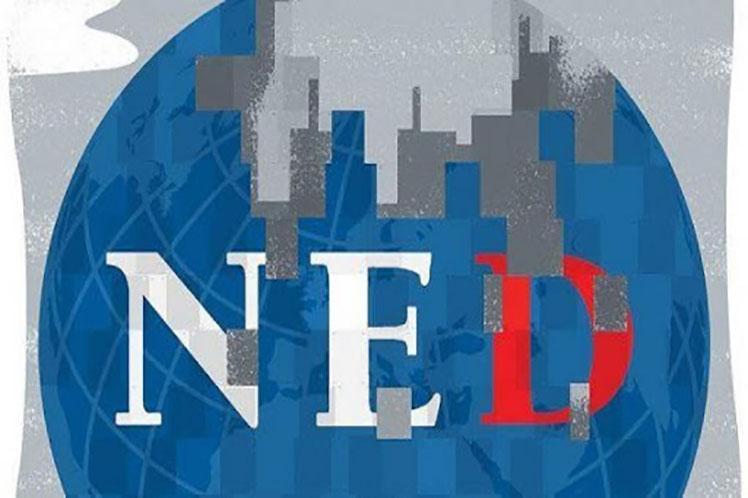 La NED está señalada como una de las fachadas de la Agencia Central de Inteligencia de Estados Unidos. Foto: PL.