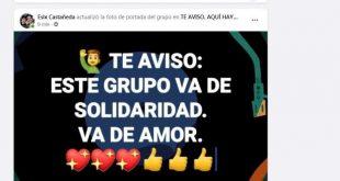 sancti spiritus, facebook, solidaridad, redes sociales