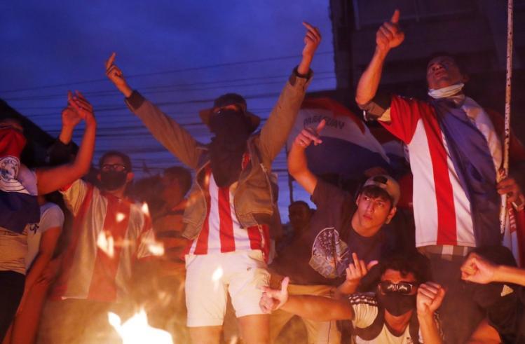 paraguay, manifestaciones, protestas