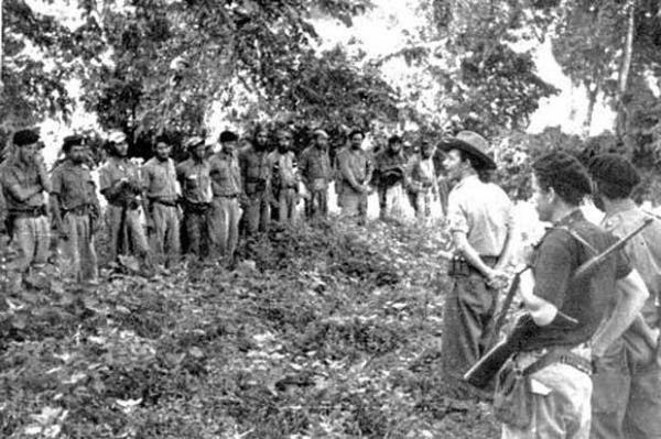 cuba, ejercito rebelde, segundo frente, revolucion cubana, historia de cuba