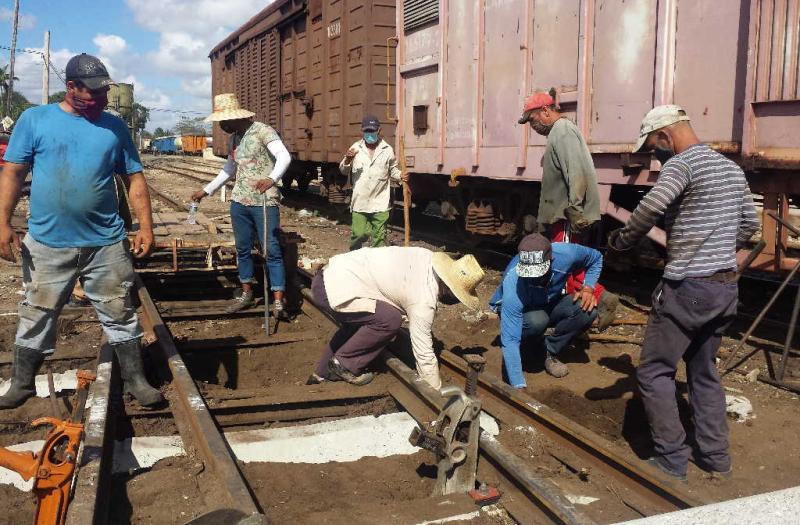 sancti spiritus, vias ferreas, empresa ferrocarriles centro, tarea ordenamiento