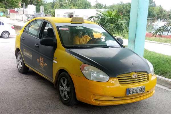 Cubataxi desarrollará las prestaciones dentro del perímetro urbano de la ciudad cabecera. (Foto: Cortesía de Transporte)