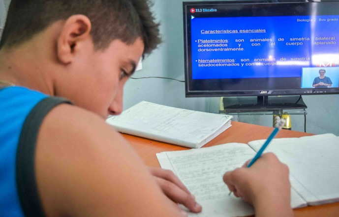 cuba, teleclases, canal educativo, educacion, covid-19, curso escolar 2020-2021