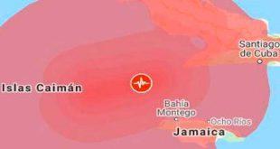 cuba, sismo, terremoto, santiago de cuba, cenais
