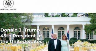 estados unidos, donald trump, sitio web