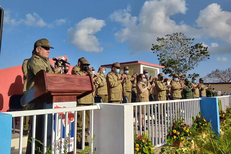 El mensaje de Raúl fue dado a conocer en el acto político y ceremonia militar por las seis décadas de ese mando. (Foto: PL)