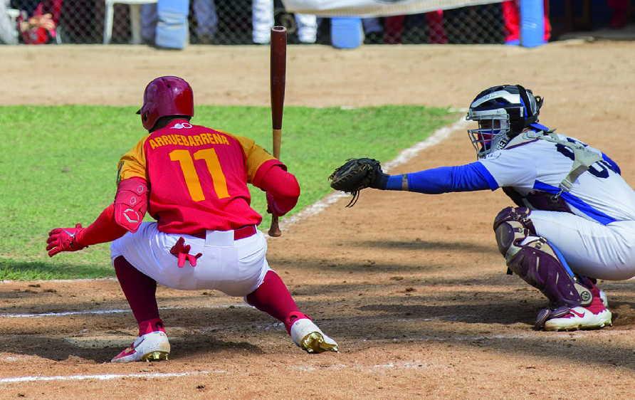 Exjugadores de las Grandes Ligas como Erisbel Arruebarruena podrían estar en la selección nacional cubana. (Foto: Oscar Alfonso)