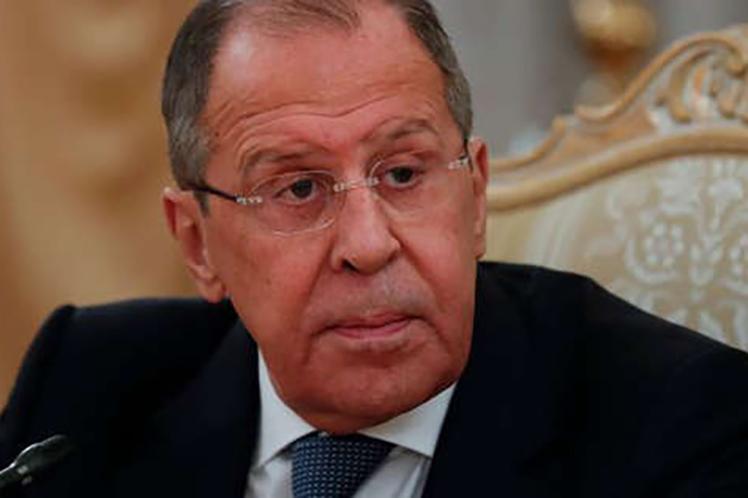 'Responderemos a esta medida en un espejo', aseguró el jefe de la diplomacia rusa. (Foto: PL)