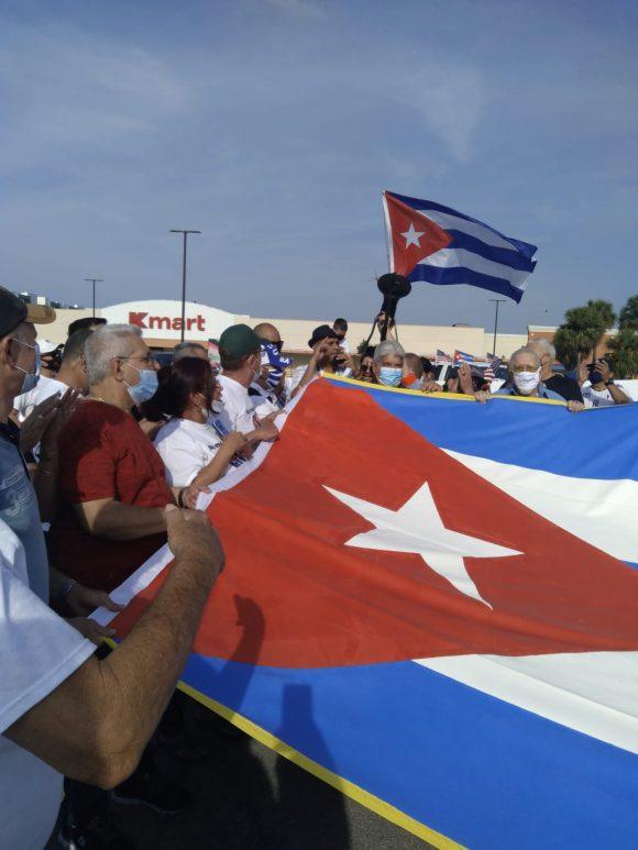 Miami resulta una de las 20 ciudades norteamericanas donde el rechazo al bloqueo se ha hecho presente.