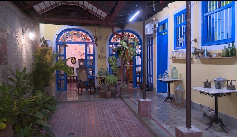 La vivienda ubicada en la calle Independencia 207, en la cuarta villa de Cuba, volvió a su imagen sin sustituir sus elementos originales. (Foto: Anait Gómez)
