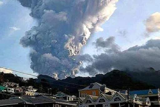 El volcán La Soufrière entró en erupción el pasado 9 de abril. (Foto: PL)