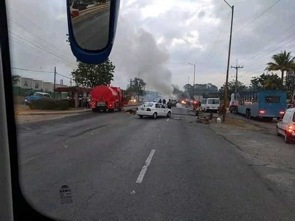 cuba, la habana, accidente masivo, accidente de transito, via blanca