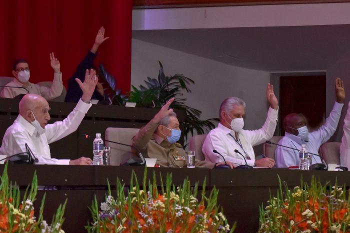cuba, partido comunista de cuba, fidel castro, VIII congreso del pcc