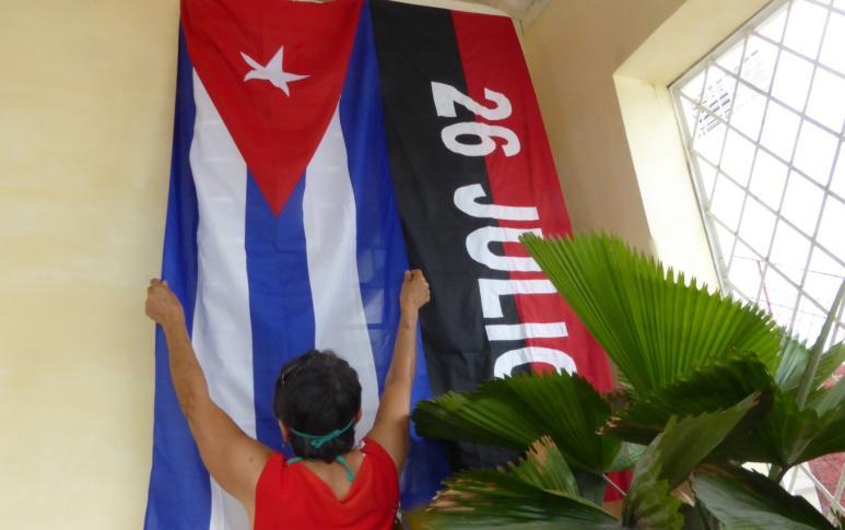sancti spiritus, cuba, primero de mayo, ctc, dia internacional de los trabajadores