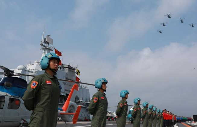 china, armada china, xi jinping
