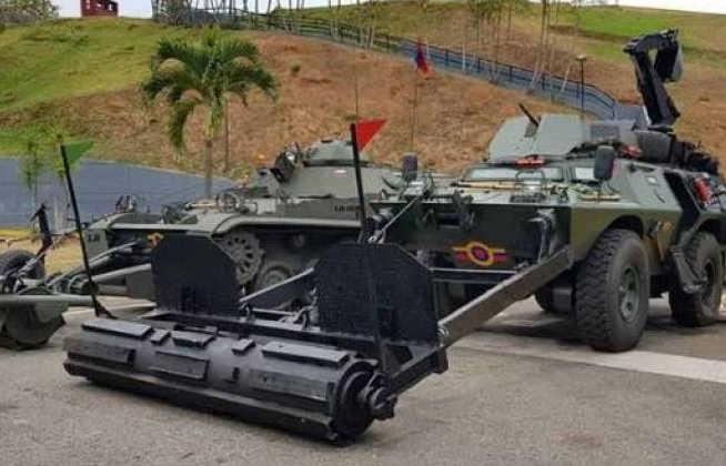 venezuela, colombia, fanb, minas