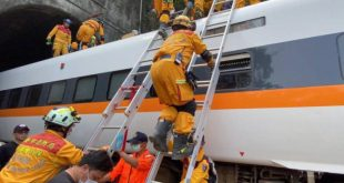 taiwuan, tren, descarrilamiento de tren, muertes