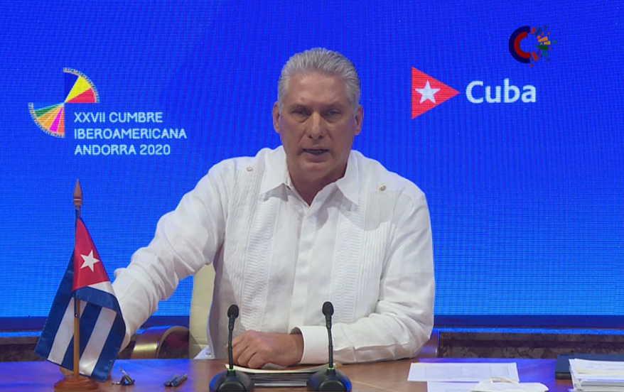 cuba, cumbre iberoamericana, miguel diaz-canel, vacuna contra la covid-19, c0vid-19
