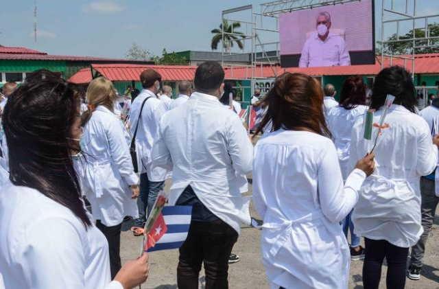 cuba, mexico, contingente henry reeve, covid-19, pandemia, medicos cubanos