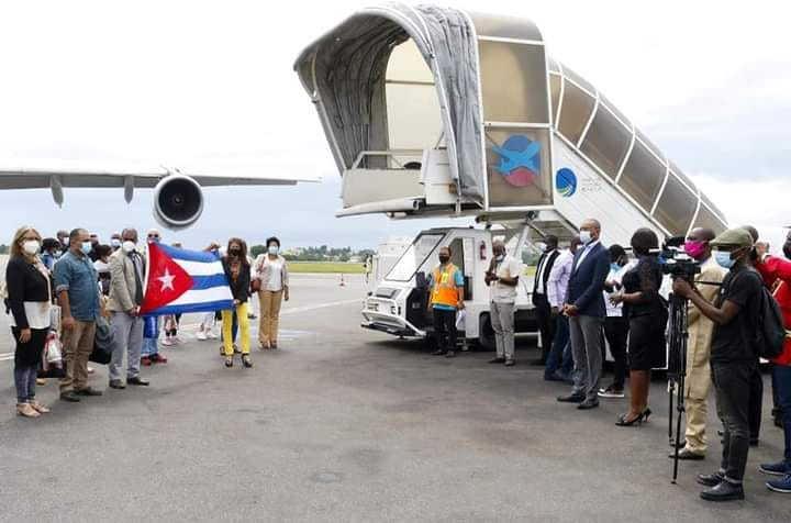 cuba, gabon, medicos cubanos, contingente henry reeve