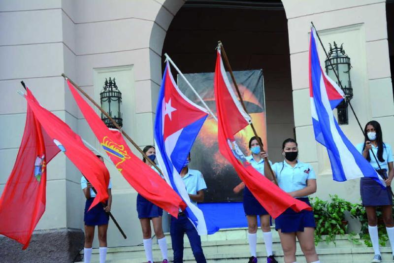 Los espirituanos cuentan con razones para celebrar con júbilo este 4 de abril los aniversarios 59 de la UJC y 60 de la Organización de Pioneros José Martí.