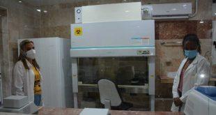 sancti spiritus, covid-19, laboratorio de biologia molecular, pruebas de pcr