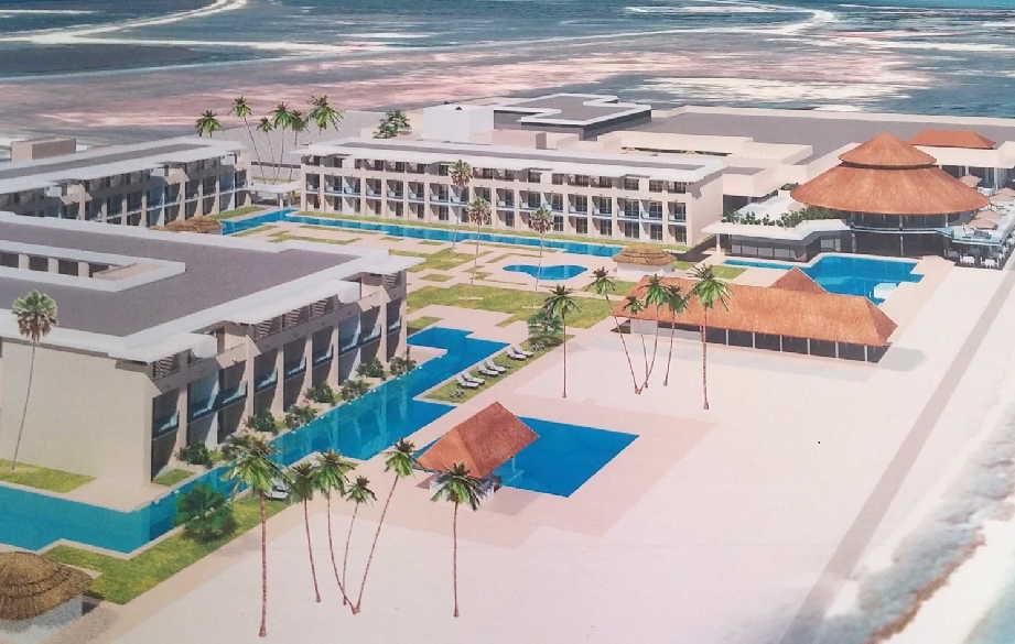 El desarrollo del turismo tiene en el hotel Meliá Trinidad una de las inversiones más importantes que se ejecutan en la provincia.