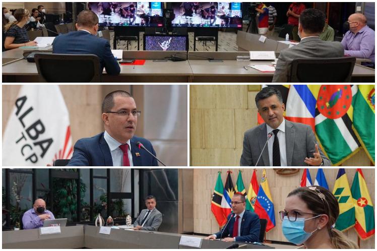 La batalla de las ideas es el escenario preferible en medio de la coyuntura que vive hoy la región y el mundo, consideró el canciller venezolano. (Foto: PL)