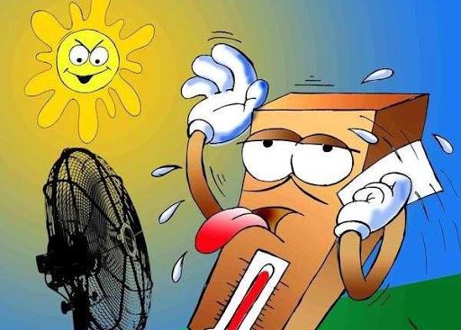 Este martes será otra jornada cálida, sobre todo en la tarde. (Ilustración: Yaciel)