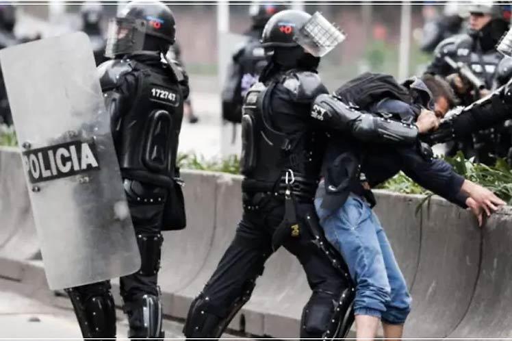 El presidente de Colombia, Iván Duque, ordenó a la fuerza pública desplegar su 'máxima capacidad operacional'. (Foto: PL)