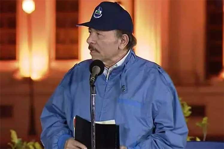 Ortega envió un mensaje de solidaridad al expresidente Raúl Castro y al actual jefe del Estado cubano, Miguel Díaz-Canel. (Foto: PL)