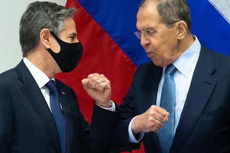 Los diplomáticos reiteraron la voluntad de sus gobiernos de limar asperezas. (Foto: PL)